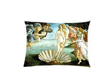 Pillow in satin reproduction painting fully customizable ref 510