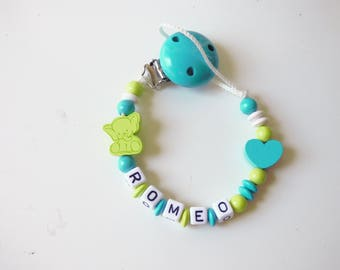 Pacifier clip / personalized pacifier