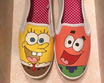SpongeBob and Patrick Star shoes