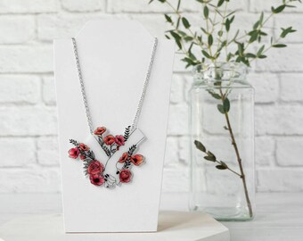 Flowering Hands Necklace