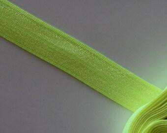 neon yellow elastic band