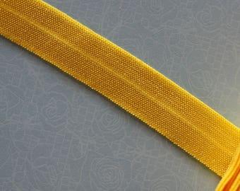Yellow elastic Ribbon