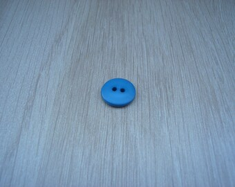 smooth blue turquoise round shaped buttons