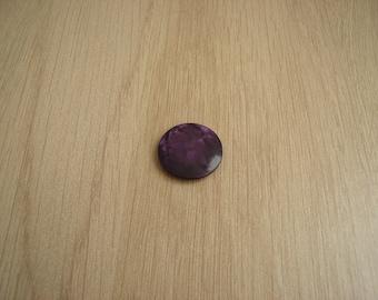 vintage retro purple tail buttons