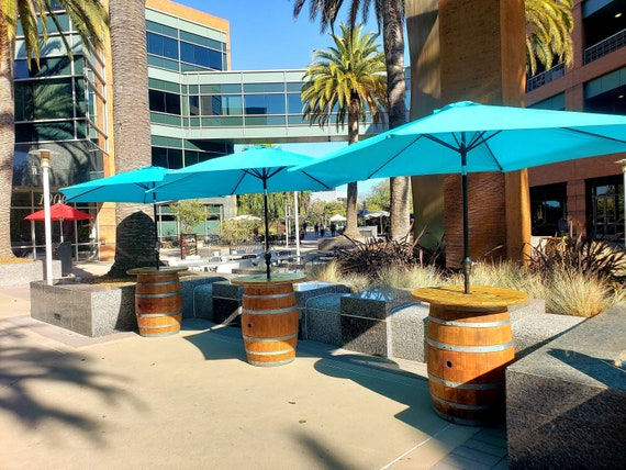 Wine Barrel Umbrella Stand Etsy
