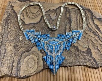 Aztec Treasure Necklace Pattern