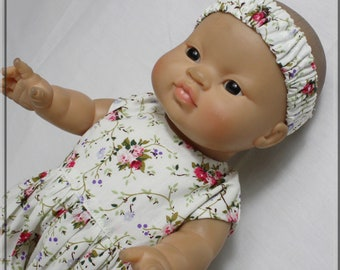 Wetsuit, trousers, headband, for baby, 30/34 cm, clothing, doll 30 cm, accessory, doll, 30 , baby, petticoat, Paola Reina