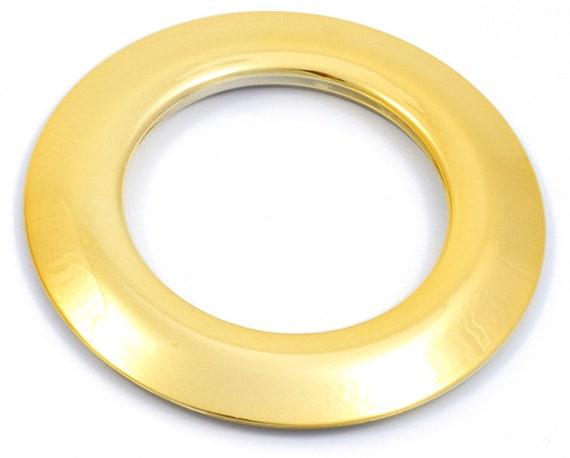diam/ètre 20mm Lot de 8 Oeillets /à Clipser pour Rideaux Coloris Or Brillant