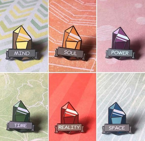 Infinity Stone Pin Set