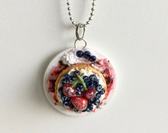 Fruit Tart Pendant