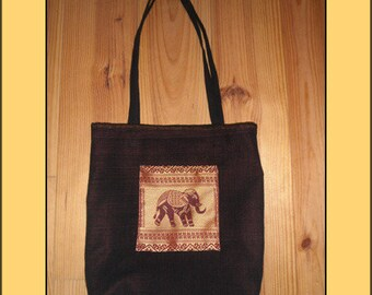 """""""Red elephant"""" tote bag"""