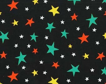 Multicoloured stars fabric, patchwork fabric bot Miller black boy with the coupon