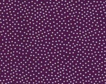 Patchwork fabric mini purple polka dot Miller