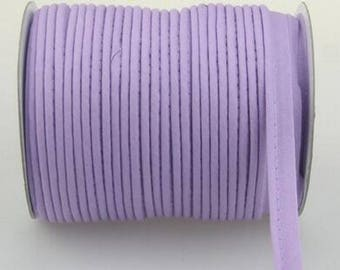 Piping, lavender piping, bias piped by the yard