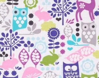 Patchwork OWL Miller fabric