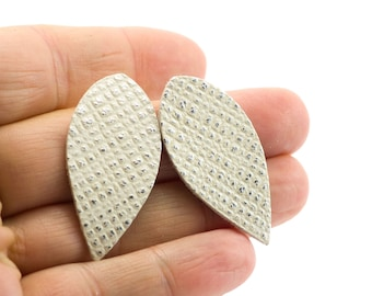 6 Dipped VealSkin Drops - 40 x 19 mm