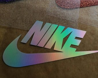 nike iron on logos, nike iron on patches, nike shirt applique, nike diy patches, glitter nike heat transfer decal, tshirt appliques