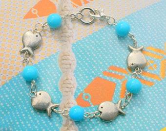 Sea fish bracelet