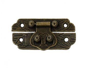 closed box accessory, bronze cardboard box frame, model B 4.7 cm in 2 parts