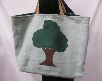 All adorned with a tree Tote