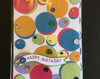 Happy Birthday - Circles