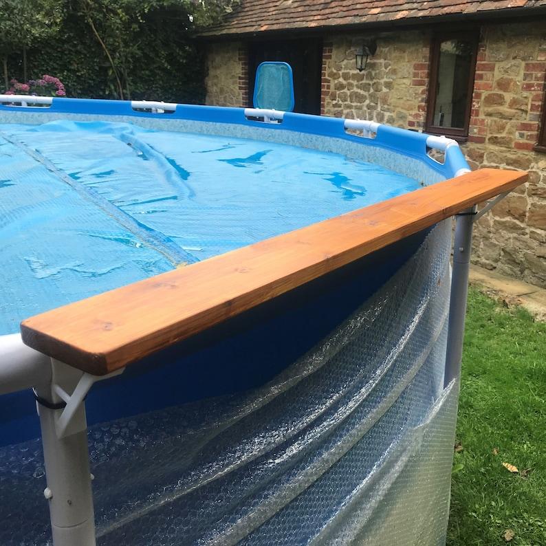 2 X Swimming Pool Shelf Brackets Suits 45Mm Top Rail / 35Mm image 5