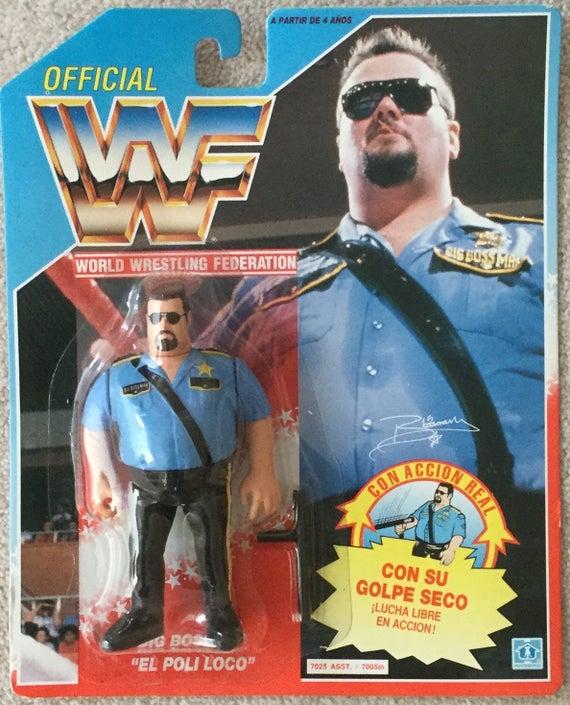 Wwf Hasbro Big Boss Man