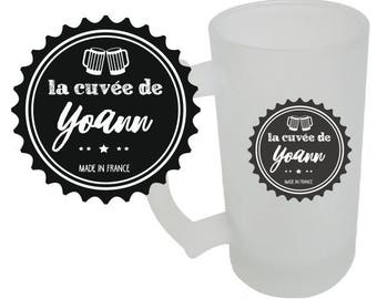 """PINT of beer """"Cuvée (personalized with name)"""""""