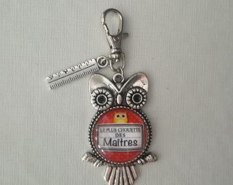 """""""The greatest masters"""" bag charm Keyring"""