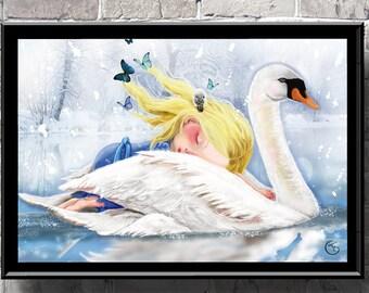 Madeline Pop surrealism art print,nursery art,baby shower,baby girl decor,birth gift,birthday,nursery decor