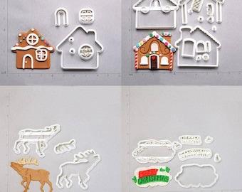 A 3D Printed Cartoon Cookie Cutters cookies cutterbaking moldbaking fondantfondant cutterbiscuit moldcandy cutter3d mold