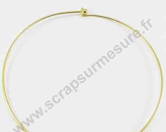 Choker Golden 13.7 cm ball unscrews