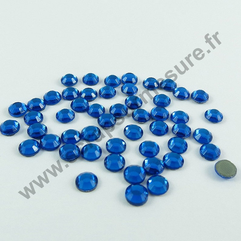4mm Sequin strass thermocollant rond hotfix GRIS HOLOGRAMME 5mm 3mm
