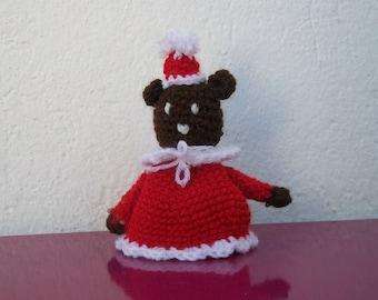Teddy bear Christmas decoration