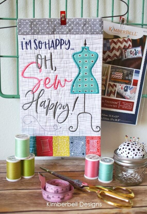 KD567 Kimberbell Mini Wall Hangings Volume 1 The Happy Home