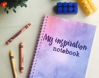 Inspiration Notebook Creative Notepad Colorful Notebook A5 Cute Writing journal Spiral Notebook Blank Pages Notebook A4 Gift Notebook Cool
