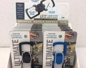 Multi-use Finger Fidget Spinner Bottle Opener Carabiner