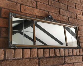 Antique Buffet With Mirror >> Buffet Mirror Etsy
