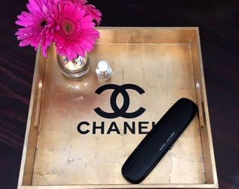 Designer Inspired Vanity or Decorative Serving Tray!