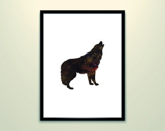 Teen wolf posters Wolf poster Wolf print Wolf prints Wolf art print Wolf wall art Wolf painting Wolf drawing Wolf wall decor Wolf art decor