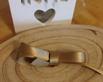 MOKUBA GOLD satin ribbon