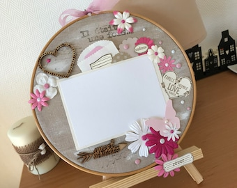 "Tmbour embroidery ""Sweet Memories"""
