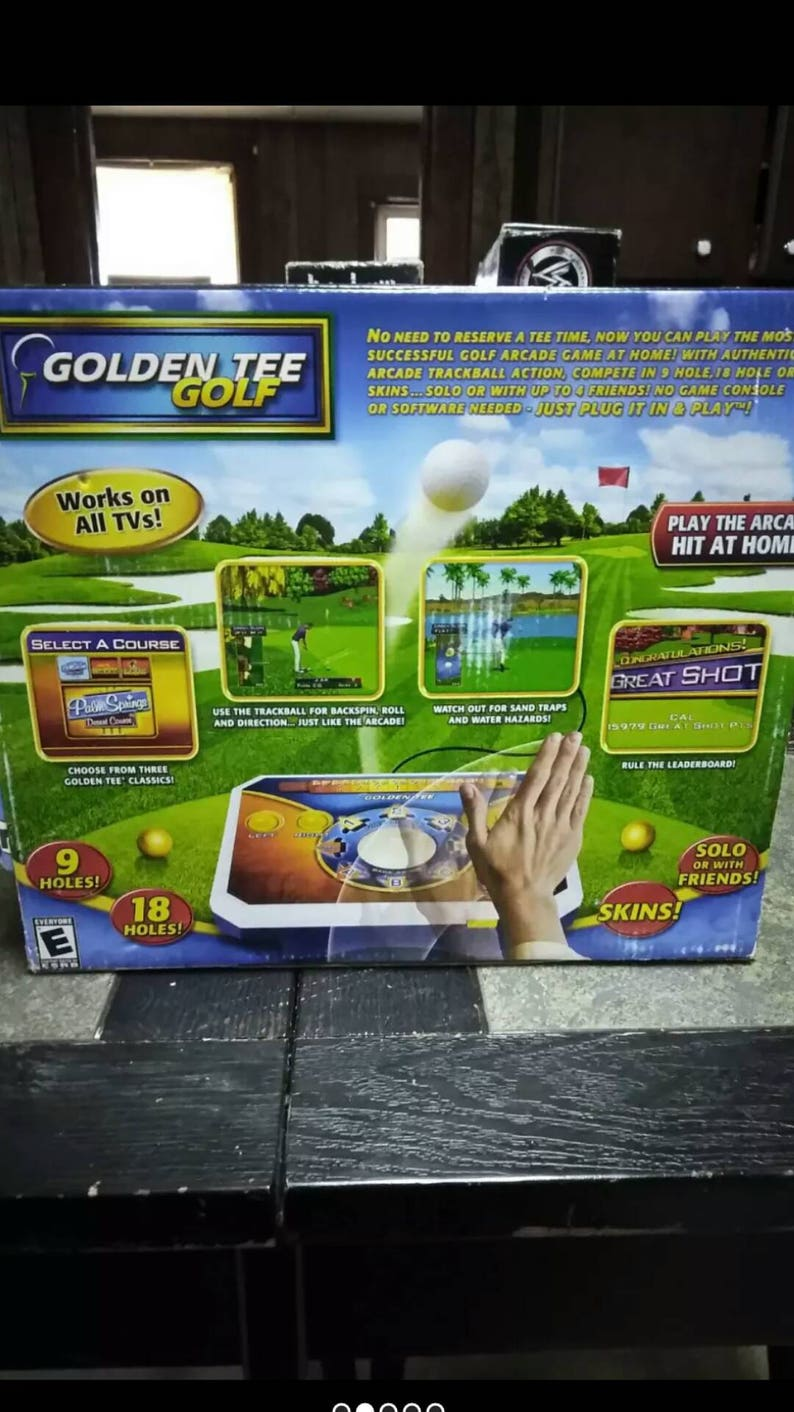 Golden Tee Great buy  fast shipping totally sealed like you guys  like it sealed Vintage