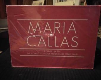 Maria Callas remastered complete Sealed studio recordings