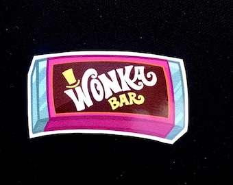 Willy wonka stickers | Etsy