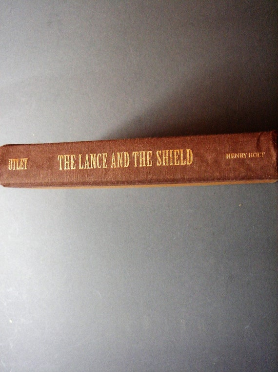The Lance And The Shield The Life And Times Of Sitting Bull Etsy