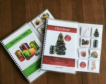Christmas Repetitive Readers for Special Ed