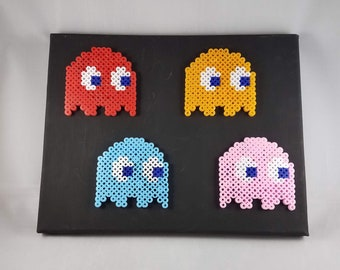 Pacman Ghosts - 8x10 Canvas