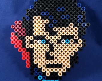 Perler Superman Headshot - Small