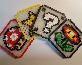 Super Mario Brothers Coasters - Set of 4
